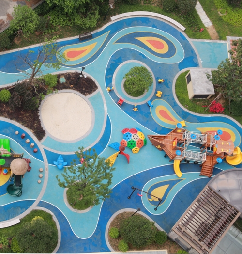 How to build a playground park ( safe play must be the first attention)